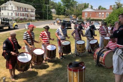 Drum Line, Old Home Day,  East Hampton Ct